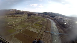 関川の河川敷