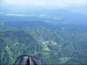 関田山脈を越え津南へ